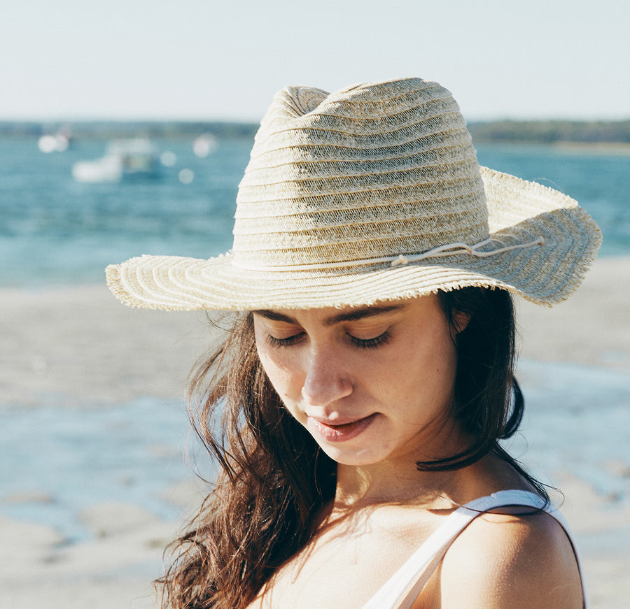 Ibiza Woven Straw Hat (Natural)