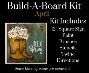 April DIY Kit