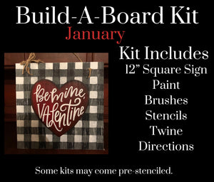 January DIY KIT