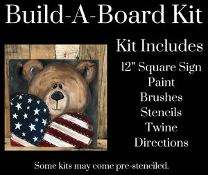 Patriotic Bear DIY Kit