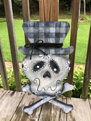 Skull Door Hanger September 25 2020 (SOLD OUT)