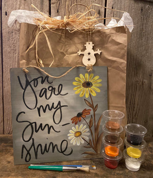 You Are My Sunshine DIY Kit