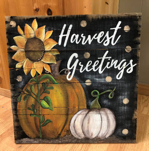 Harvest Greetings November 21, 2019 (SOLD OUT)
