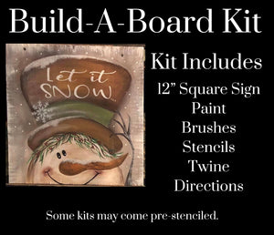 Let It Snow DIY Kit