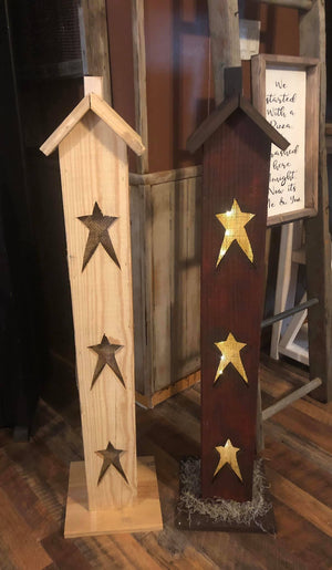 "40"" Light Up Bird House March 26, 2020 (SOLD OUT)"