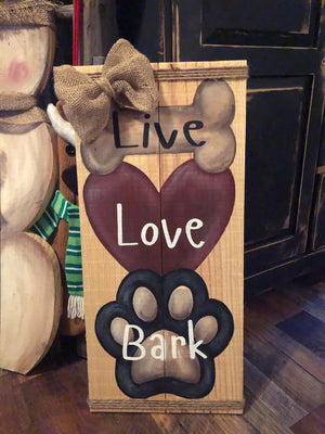 Live Love Bark February 5, 2020 (SOLD OUT)