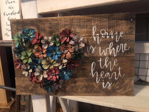 Pine Cone Heart June 11, 2020 (SOLD OUT)
