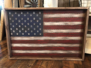 Shadow Box American Flag June 2, 2020 (SOLD OUT)