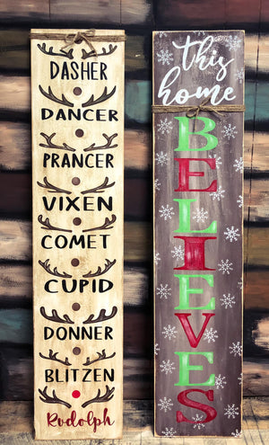 "48"" Tall Porch Signs December 16, 2020 (SOLD OUT)"