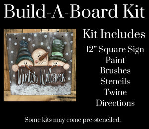 Winter Welcome DIY Kit