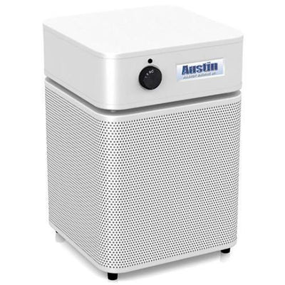 Austin Air Allergy Machine Junior Air Purifier - White