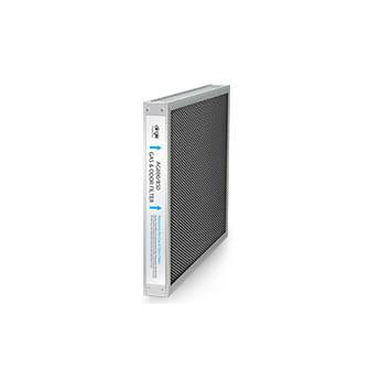 Gas and odor filter for the Airgle AG500 air purifier.
