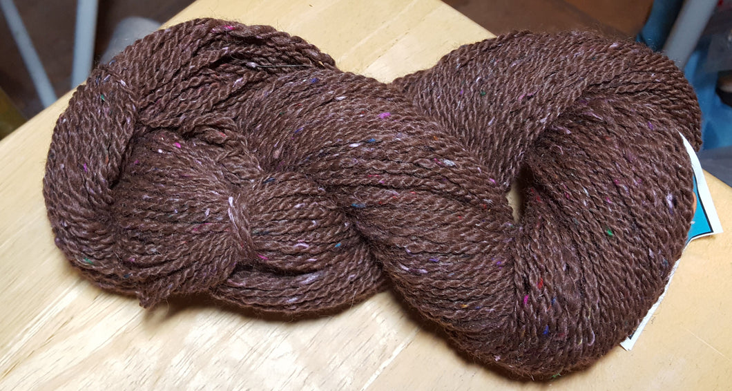 Alpaca Yarn - Brown Confetti