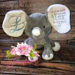 Birth Announcement Elephant