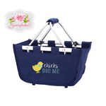 Chicks Dig Me Mini Market Tote