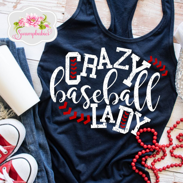 Crazy Baseball Lady