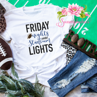 Friday Nights under Stadium Lights! - Sublimation