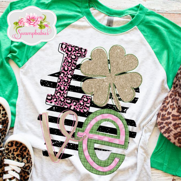 Love Clover: T-SHIRT