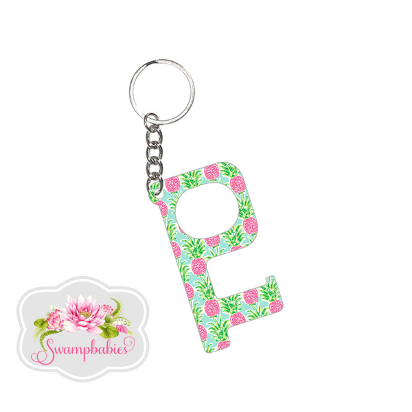 Hands-Free Keychain - Sweet Paradise Pineapple