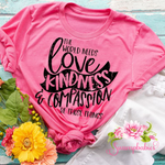 The World Needs Love Kindness And Compassion