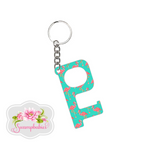Hands-Free Keychain - Tickled Pink Flamingo
