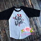 Wild at Heart - Raglan