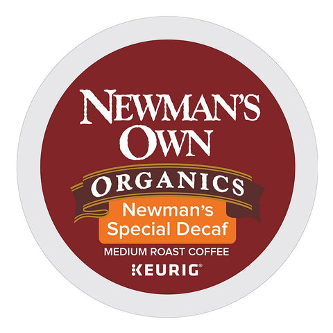 Newman's Own Coffee Keurig K-Cups, Newman's Special Decaf