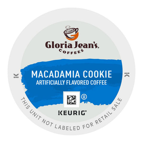 Gloria Jean's Coffee Keurig K-Cups, Macadamia Cookie