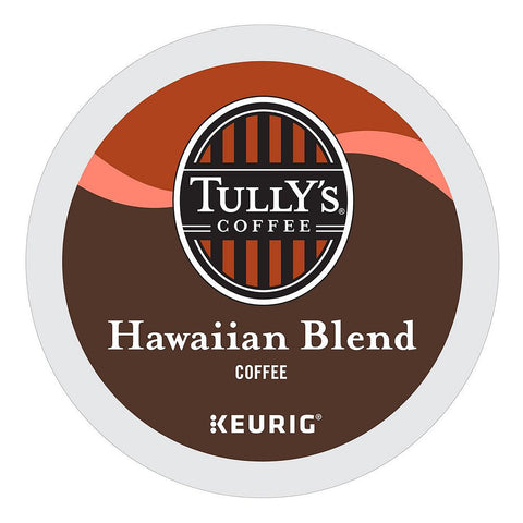 Tully's Coffee Keurig K-Cups, Hawaiian Blend