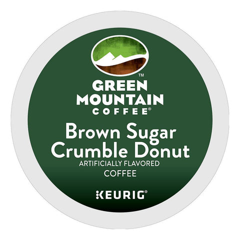 Green Mountain Coffee Keurig K-Cups, Brown Sugar Crumble Donut