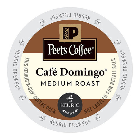 Peet's Coffee Keurig K-Cups, Café Domingo