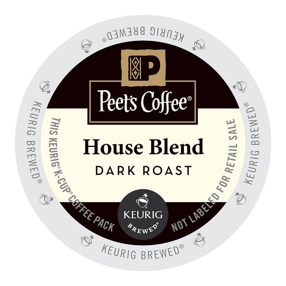 Peet's Coffee Keurig K-Cups, House Blend
