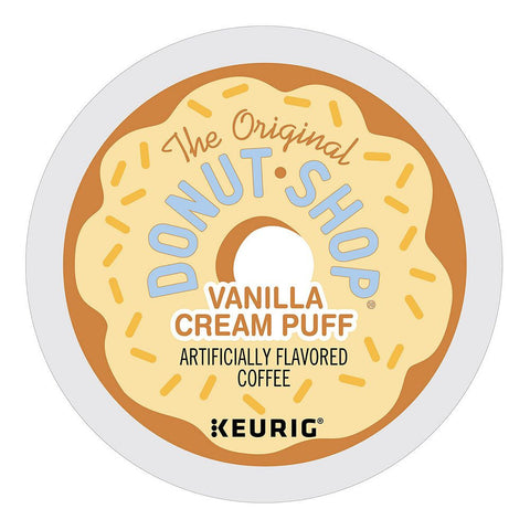 The Original Donut Shop Coffee Keurig K-Cups, Vanilla Cream Puff