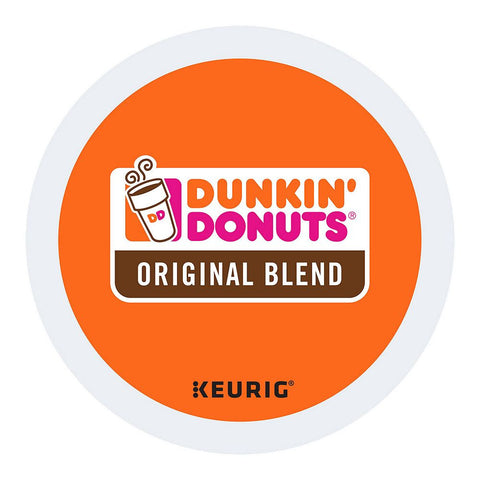 Dunkin' Donuts Coffee Keurig K-Cups, Original Blend
