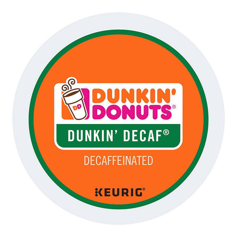 Dunkin' Donuts Coffee Keurig K-Cups, Dunkin' Decaf