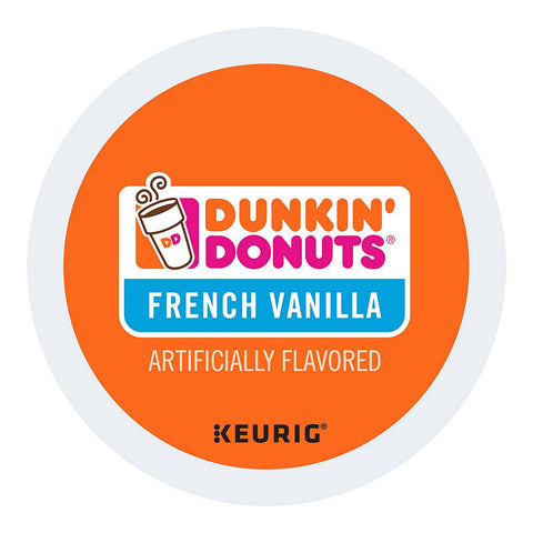 Dunkin' Donuts Coffee Keurig K-Cups, French Vanilla