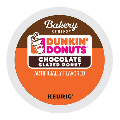 Dunkin' Donuts Coffee Keurig K-Cups, Chocolate Glazed Donut