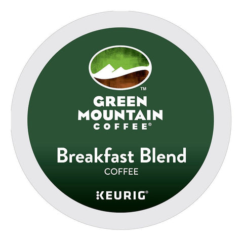 Green Mountain Coffee Keurig K-Cups, Breakfast Blend