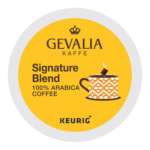 Gevalia Coffee Keurig K-Cups, Signature Blend