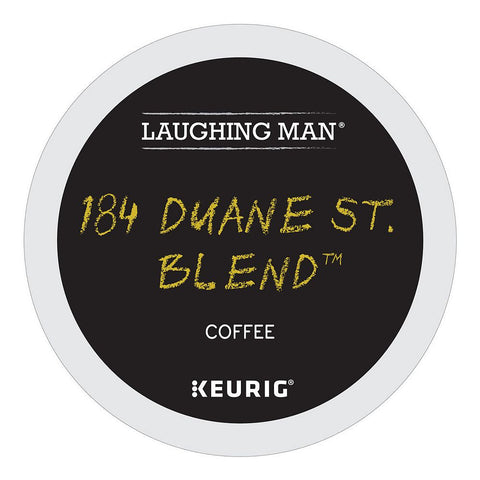 Laughing Man Coffee Keurig K-Cups, 184 Duane St. Blend