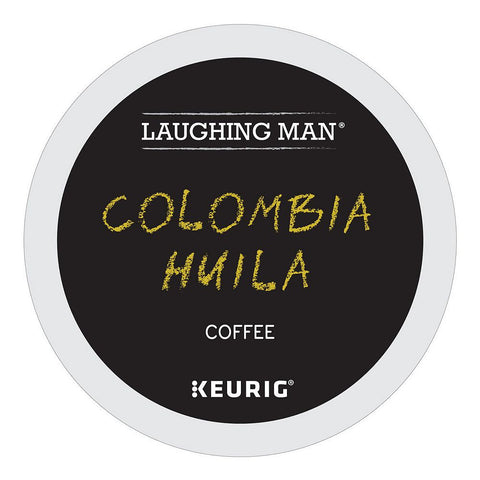 Laughing Man Coffee Keurig K-Cups, Columbia Huila