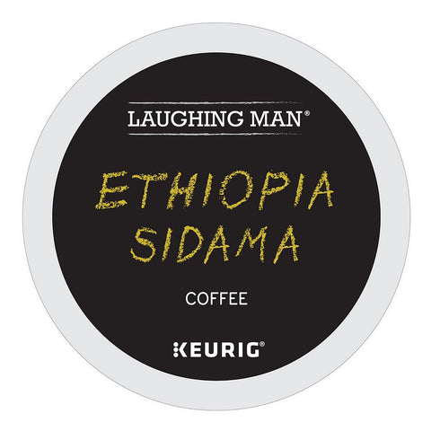 Laughing Man Coffee Keurig K-Cups, Ethiopia Sidama