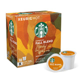 Starbucks Coffee Keurig K-Cups, Fall Blend