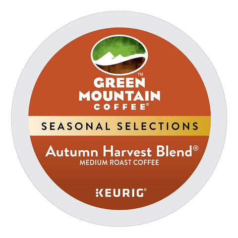 Green Mountain Coffee Keurig K-Cups, Autumn Harvest Blend