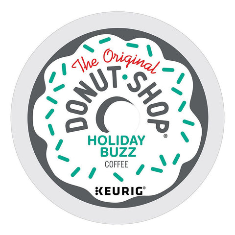 The Original Donut Shop Coffee Keurig K-Cups, Holiday Buzz