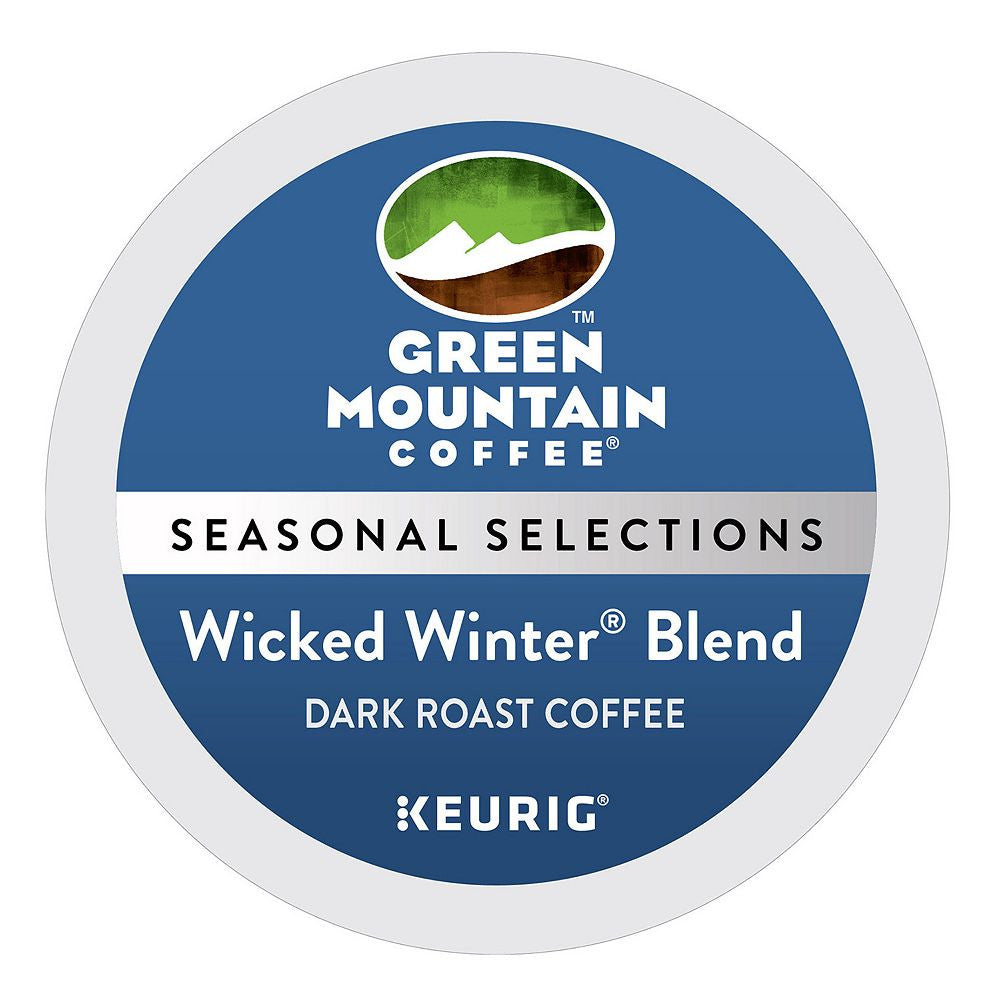 Green Mountain Coffee Keurig K-Cups, Wicked Winter Blend