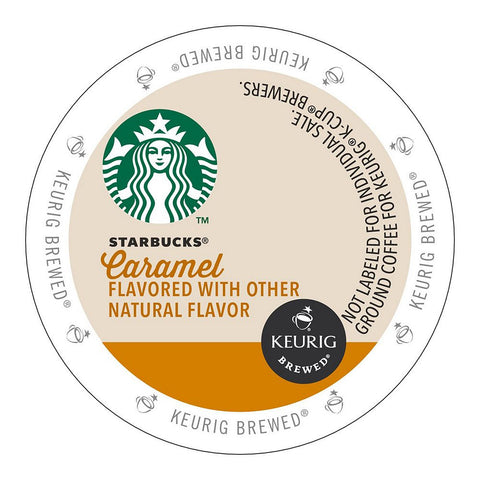 Starbucks Coffee Keurig K-Cups, Caramel