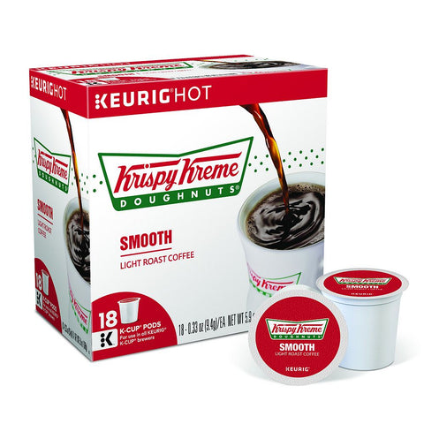 Krispy Kreme Doughnuts Coffee Keurig K-Cups, Smooth Light Roast