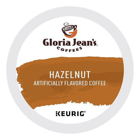 Gloria Jean's Coffee Keurig K-Cups, Hazelnut