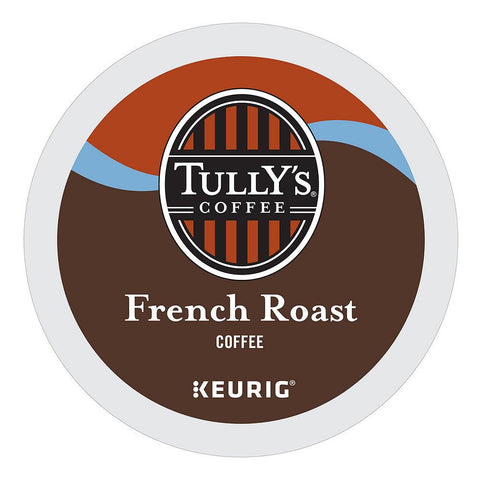 Tully's Coffee Keurig K-Cups, French Roast